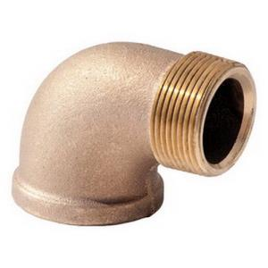 1-1/2inch BRASS 90 STREET ELBOW- LEAD FREE