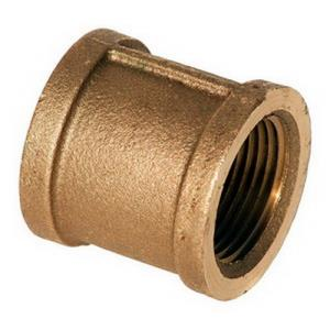 1-1/2inch CAST BRASS COUPLING - LEAD FREE