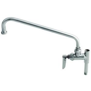 B-0158 T&S BRASS ADD-ON FAUCET 14inch NOZZLE LEVER