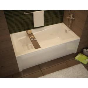 105519-R-000-001 MAAX WHITE EXHIBIT TUB 60X30X18 W