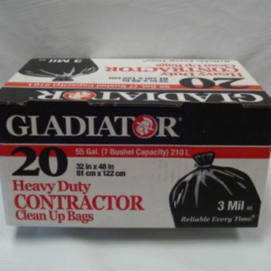 CB-CON20 3mil GLADIATOR THICK HEAVYWEIGHT PLASTIC