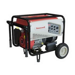 6037 HONEYWELL GENERAC 5500 WATT GAS POWERED PORTA