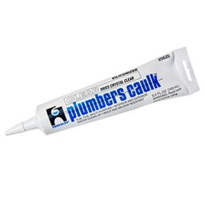 25620 HERCULES 5.5 OZ. CLEAR PLUMBERS CAULK