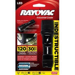 RAYOVAC DIY3AAA-B LED FLASHLIGHT - INCLUDES 3-AAA
