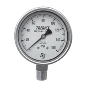 0-160psi TRERICE 2-1/2inch DIAL 1/4inch NPT LOWER